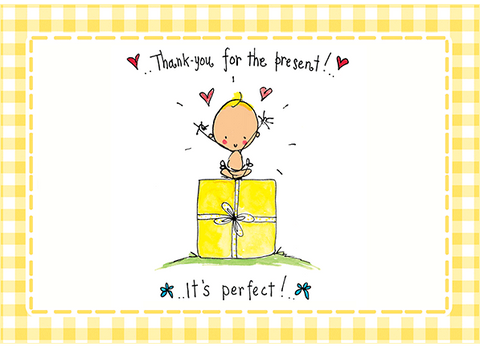 Thank you for the present! It's perfect! - Juicy Lucy Designs  - 1