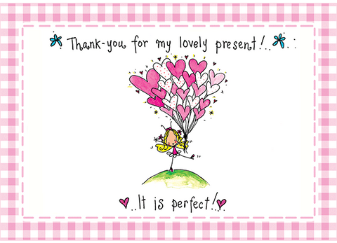 Thank-you for my lovely present! It is perfect! - Juicy Lucy Designs  - 1