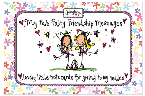 My Fab Fairy Friendship Messages - Juicy Lucy Designs  - 1