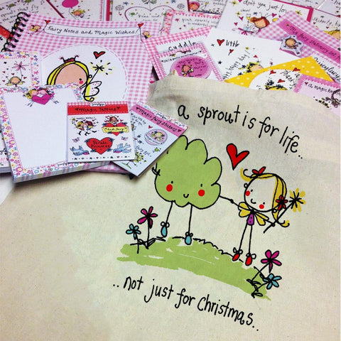 'A sprout is for life not just for Christmas' Goody Bag - Juicy Lucy Designs