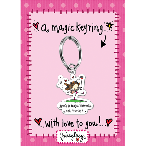 Here's to magic moments and merlot! - Juicy Lucy Designs
