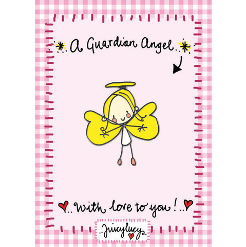Guardian Angel Pin - Juicy Lucy Designs