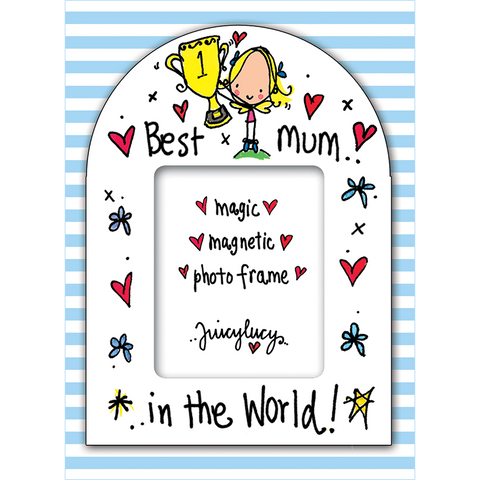 Best mum in the world! - Juicy Lucy Designs