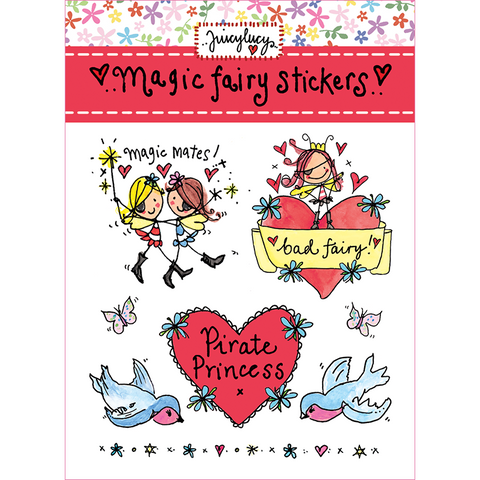 Magic Fairy Stickers - Juicy Lucy Designs