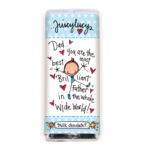Dad..you are the best most brilliant Father in the whole wide world! - Juicy Lucy Designs