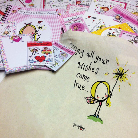 'May all your wishes come true' Goody Bag - Juicy Lucy Designs