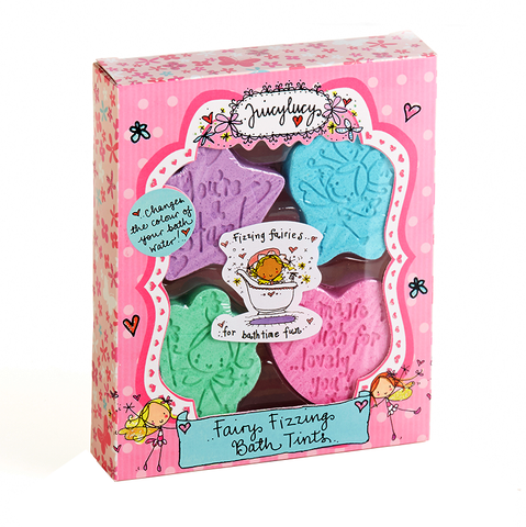 Fairy Fizzing Bath Tints - Juicy Lucy Designs