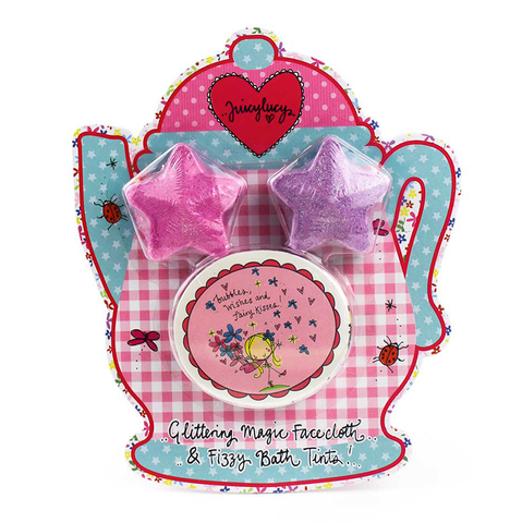 Magic Face Cloth & Bath Fizzy Tints - Juicy Lucy Designs