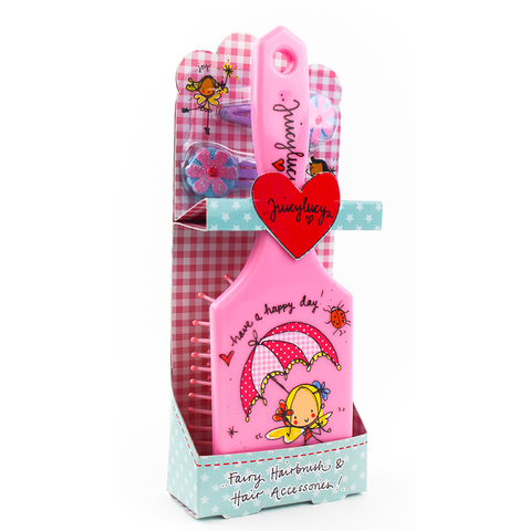 Fairy Hairbrush & Accessories Set - Juicy Lucy Designs