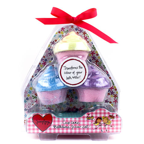 Cupcake Bath Fizzers - Juicy Lucy Designs