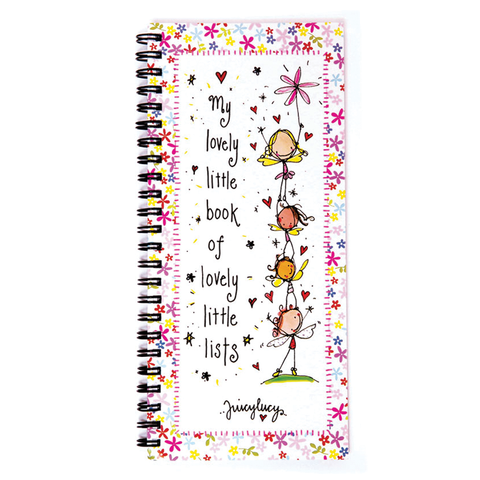 Lovely Little List Book - Juicy Lucy Designs