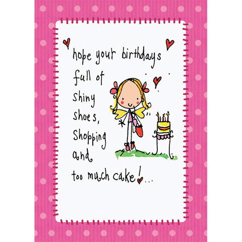 Hope your Birthdays full of shiny shoes... - Juicy Lucy Designs