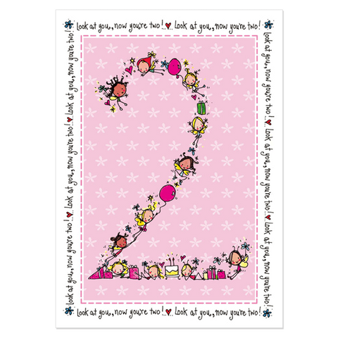2nd Birthday Girl - Juicy Lucy Designs