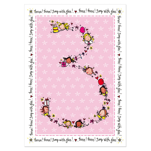 3rd Birthday Girl - Juicy Lucy Designs