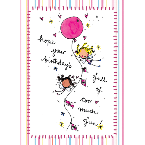Hope your birthday's full of too much fun! - Juicy Lucy Designs