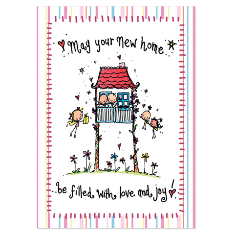 May your new home be filled with love and joy! - Juicy Lucy Designs