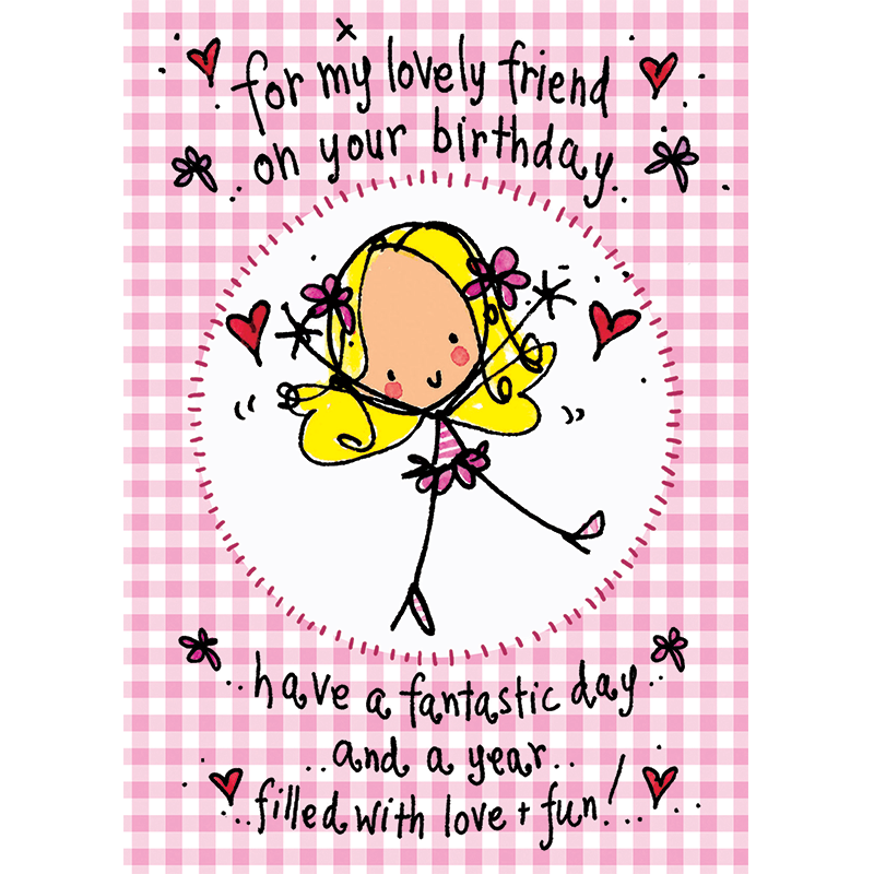 For My Lovely Friend On Your Birthday...