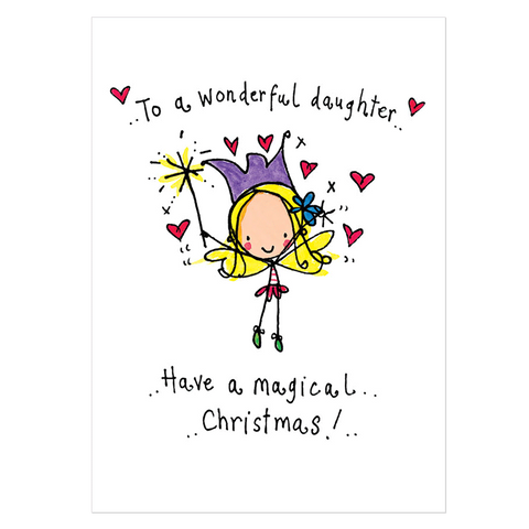 To a wonderful daughter... - Juicy Lucy Designs