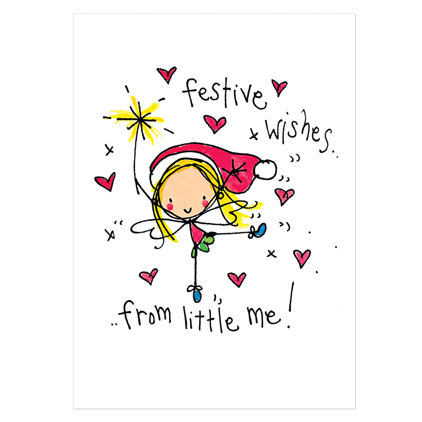 Christmas Card Pack 'fairy Christmouse' C €� Juicy Lucy Designs