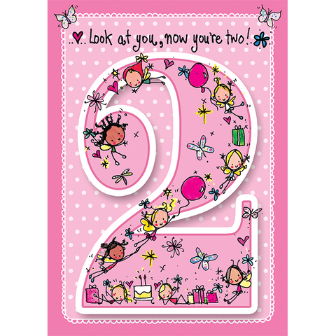 Look at you, now you're two! - Juicy Lucy Designs