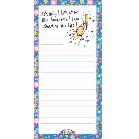 Oh golly! Look at me! Bish-bash-bosh! I am smashing this list! - Juicy Lucy Designs