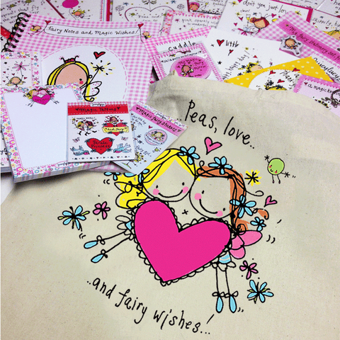 'Peas Love & Fairy Wishes' Goody Bag - Juicy Lucy Designs