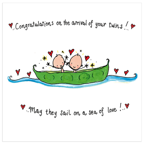 Congratulations Twins! - Juicy Lucy Designs