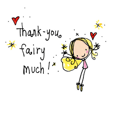 Thanks Fairy Much! - Juicy Lucy Designs