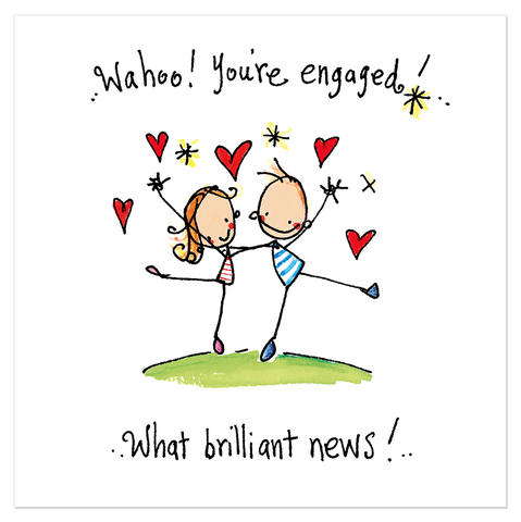 Wahoo! You're Engaged! - Juicy Lucy Designs