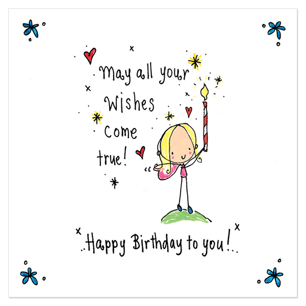 May All Your Wishes Come True Happy Birthday To You