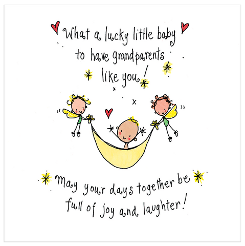 What a lucky little boy to have Grandparents like you! - Juicy Lucy Designs