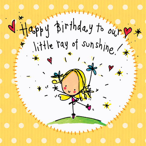 Happy Birthday To our Little Ray of Sunshine! - Juicy Lucy Designs