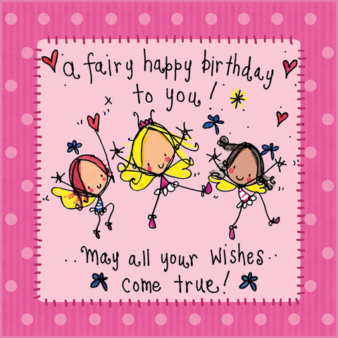 A fairy happy birthday to you! - Juicy Lucy Designs