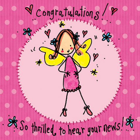 Congratulations! So thrilled to hear your news! - Juicy Lucy Designs