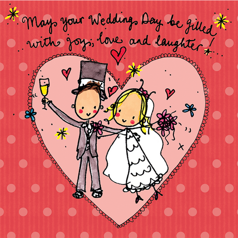 May your Wedding Way be filled with love, joy and laughter! - Juicy Lucy Designs