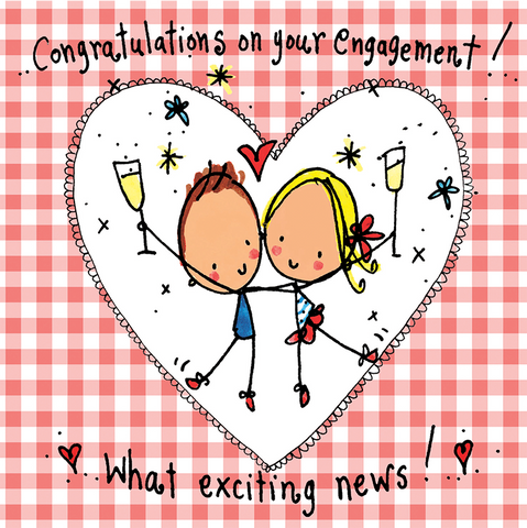 Congratulations On Your Engagement! - Juicy Lucy Designs