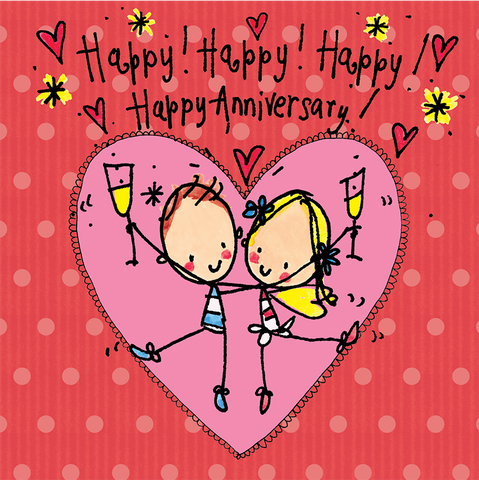 Happy, Happy Happy Anniversary! - Juicy Lucy Designs