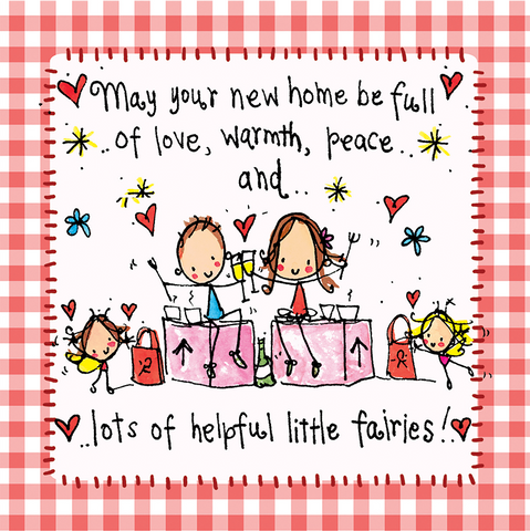 May our new home be full of love, warmth... - Juicy Lucy Designs