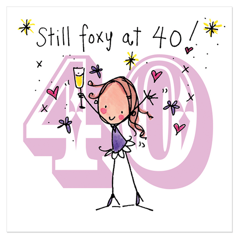 Still foxy at 40! - Juicy Lucy Designs