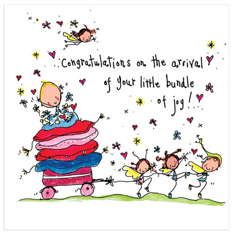 Congratualtions on the arrival of your little bundle of joy! - Juicy Lucy Designs
