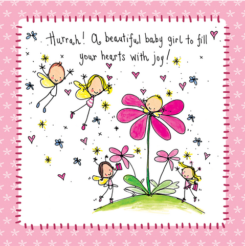 Hurrah! A beautiful baby girl to fill your hearts with joy! - Juicy Lucy Designs