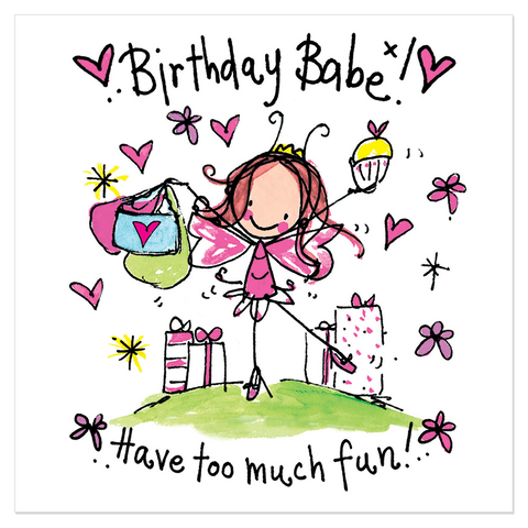 Birthday Babe! Have too much fun!! - Juicy Lucy Designs