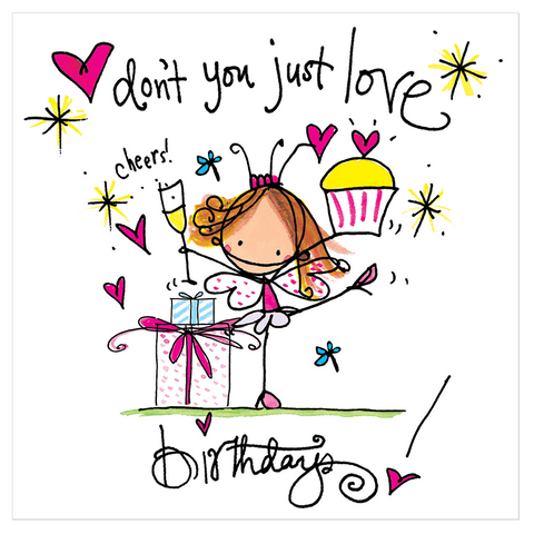 Don't you just love birthdays! - Juicy Lucy Designs