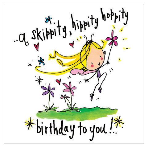 A skippity, hippity, hoppity birthday to you! - Juicy Lucy Designs