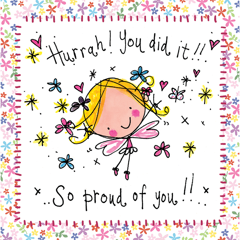 Hurrah You Did It So Proud Of You Juicy Lucy Designs