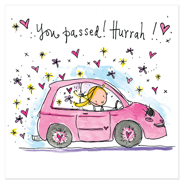 You passed! Hurrah! – Juicy Lucy Designs