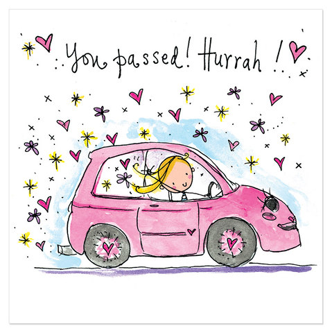 You passed! Hurrah! - Juicy Lucy Designs