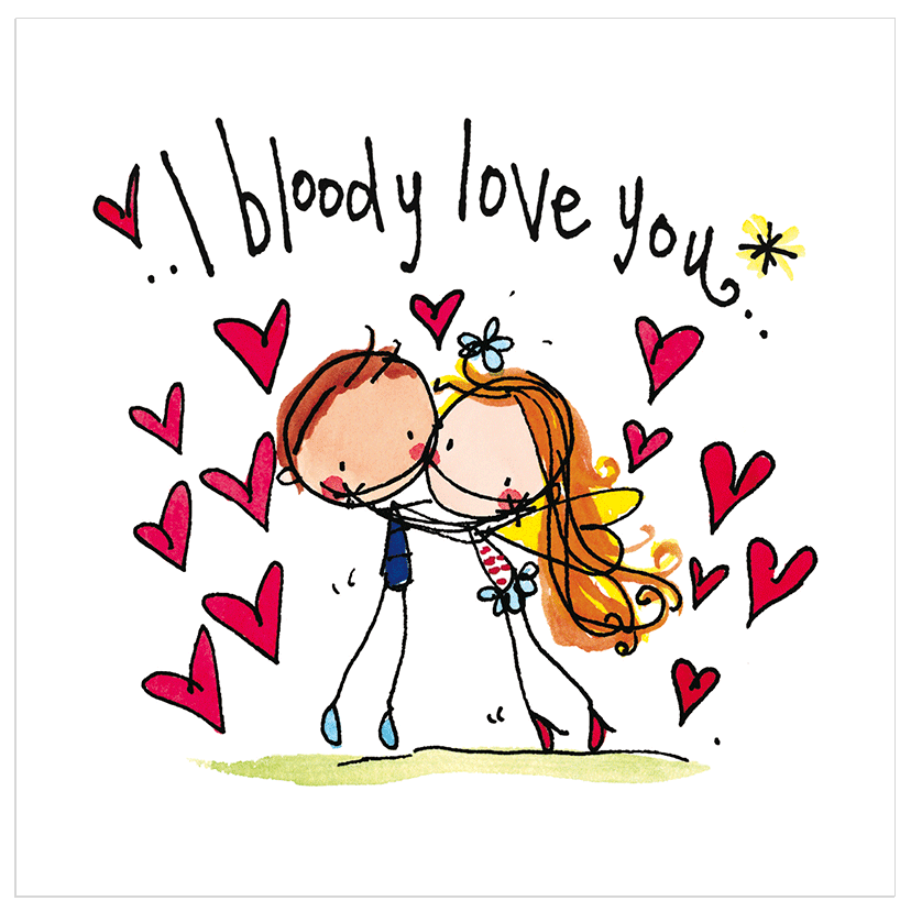 Love cheeky cards juicy lucy designs i bloody love you juicy lucy designs m4hsunfo