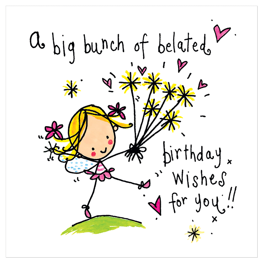 A big bunch of belated birthday wishes for you juicy lucy designs a big bunch of belated birthday wishes for you juicy lucy designs m4hsunfo