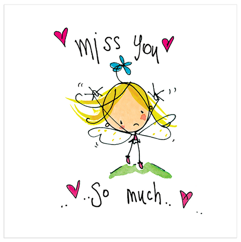 Miss you.. So much.. - Juicy Lucy Designs